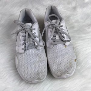 White & Gray Nike Athletic Shoes